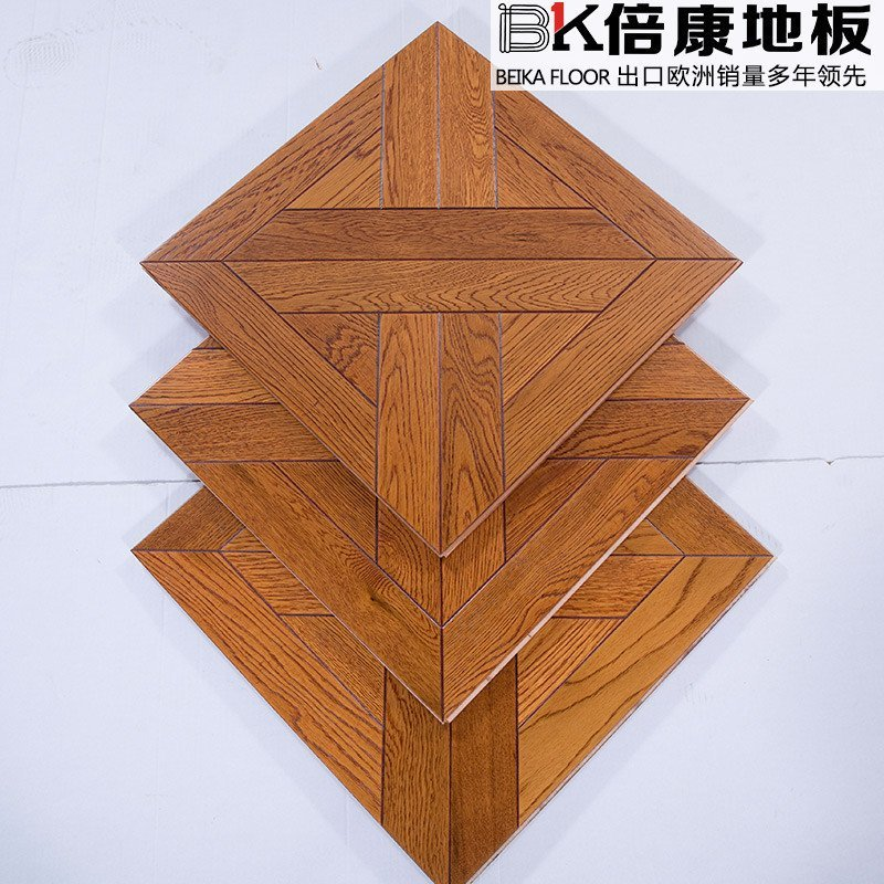 倍康地板 多层实木复合拼花橡木地板