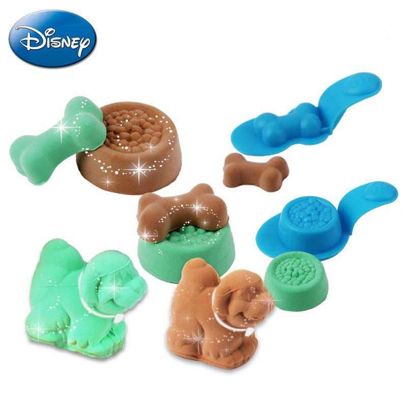 迪士尼3d打印泥打印机动物世界套装儿童彩泥橡皮泥无毒不干彩泥儿童
