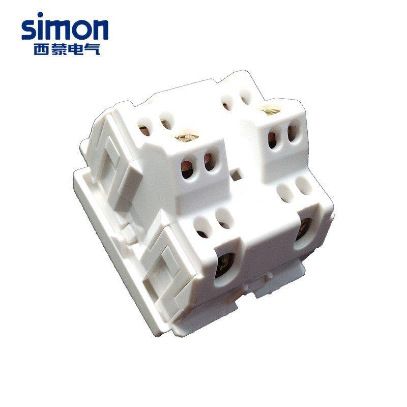 西蒙开关插座52系列二开双控开关功能件