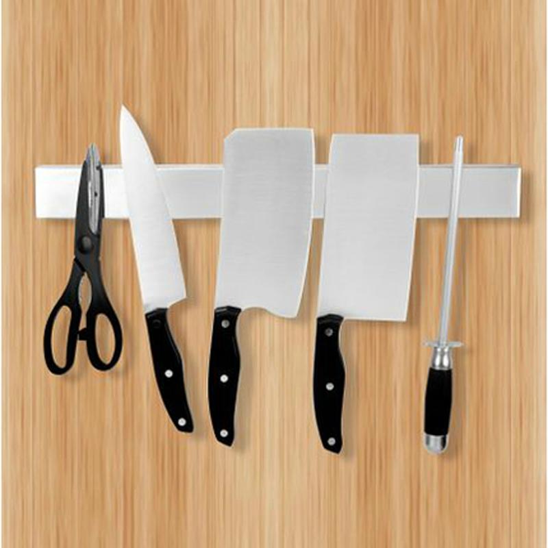 包邮不锈钢挂架刀架厨房用品磁吸壁挂式情趣厨具厨房用品磁性刀架沈阳有没有磁力房附近图片