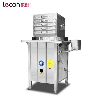 lecon/樂創洋博 一抽一小份 商用燃氣腸粉機廣東腸粉抽屜式機節能加厚蒸蒸粉機蒸爐布拉腸