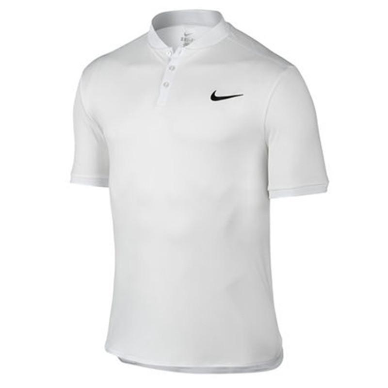 nike 耐克 2016 年 法网 新款 男子 网球 翻领 t恤 男子 运动 短袖