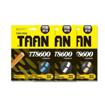 泰昂高彈網球線TT8600六角硬線