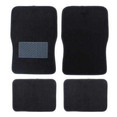 淘爾杰TAOERJ汽車用品 地毯式通用腳墊 腳墊四件套 四季通用腳墊