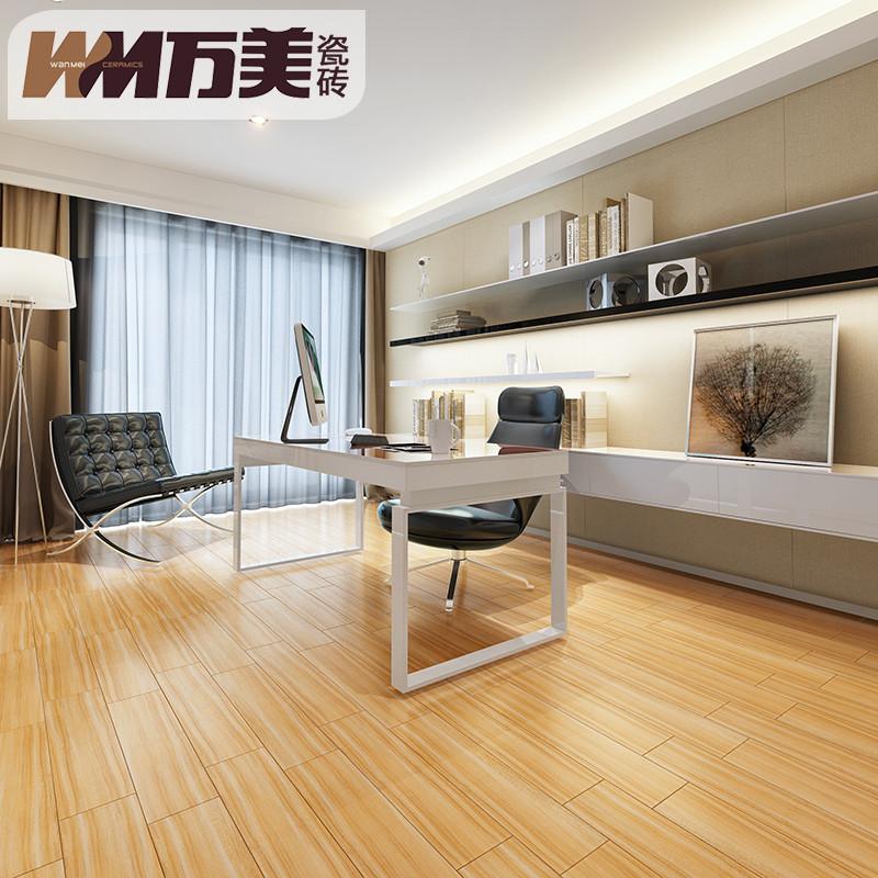客厅木纹砖防滑地砖卧室阳台地板砖150