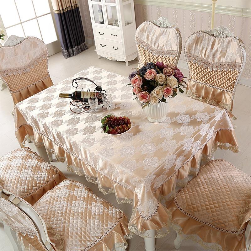 欧式桌布 餐桌布艺