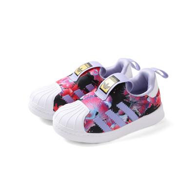 adidas阿迪达斯童鞋正品儿童运动鞋2017新款三叶草男童女童运动鞋宝宝