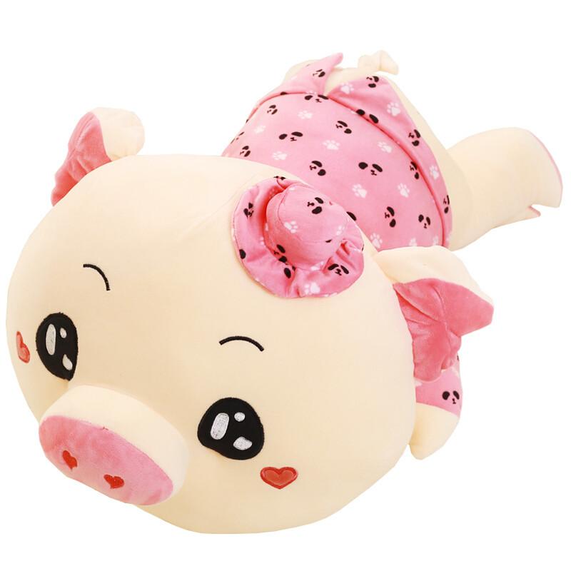 心向绒 麦兜猪公仔萌逗猪毛绒玩具猪布娃娃可爱大号睡觉抱枕猪猪玩偶