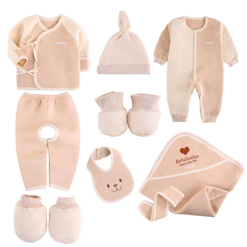 刚出生的婴儿需要用些什么衣服图片