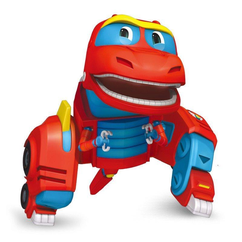 灵动创想 帮帮龙出动变形玩具 变形恐龙 迷你薇琪