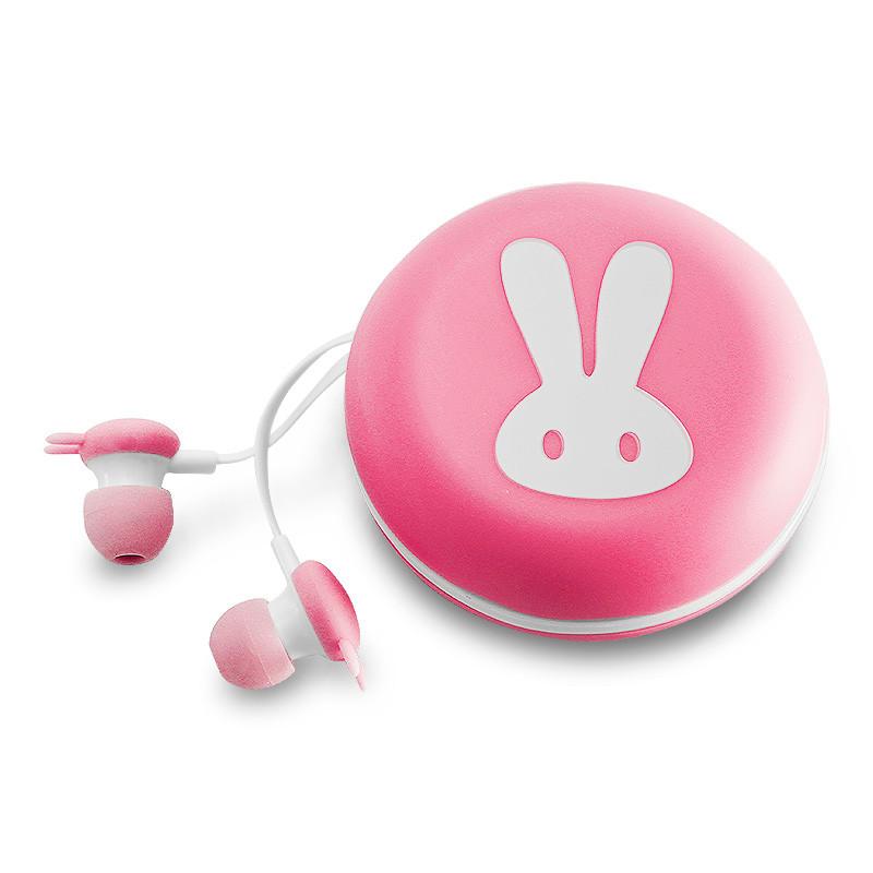 mncow/魔豆仕 兔子耳机卡通入耳式可爱平板手机电脑通用耳机耳塞有线