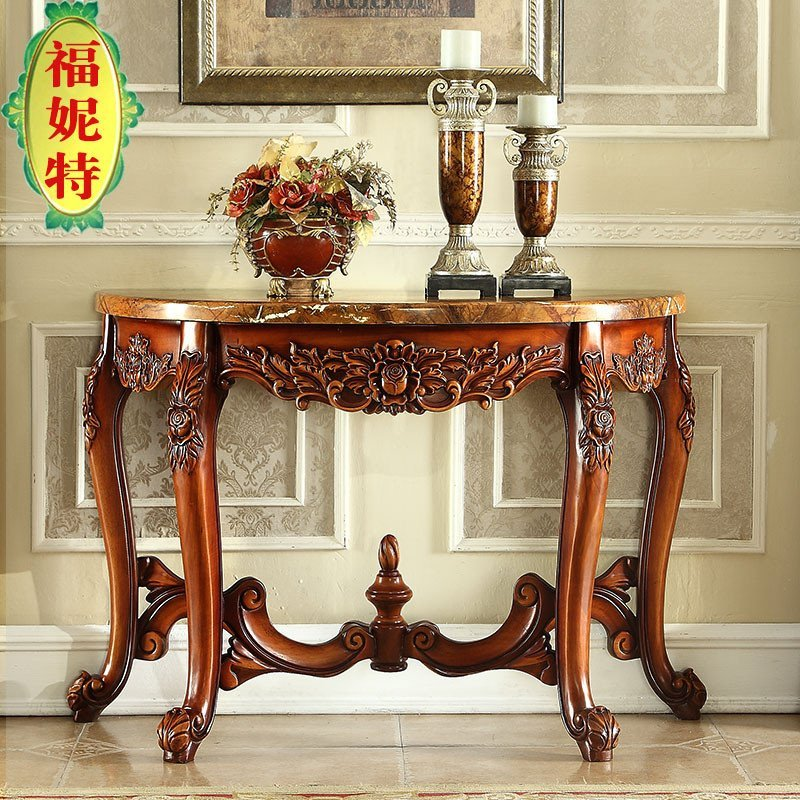 福妮特欧式玄关桌 新古典大理石玄关桌