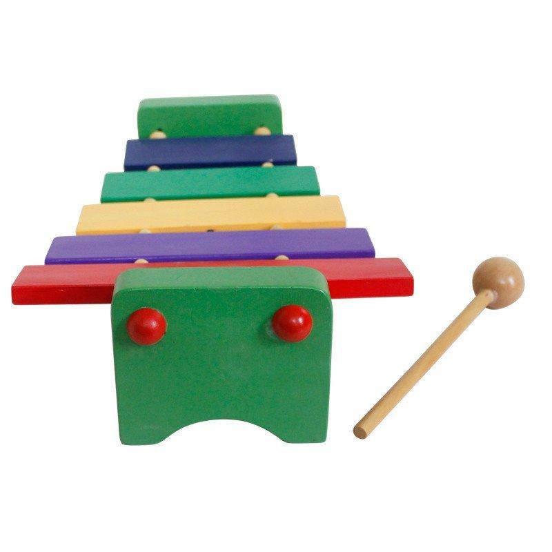 木童五音八音敲击木琴 儿童敲打音乐玩具声乐教具