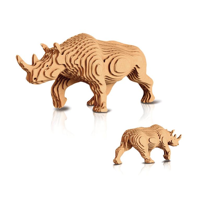 3d立体模型 宝宝diy手作益智玩具
