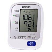 欧姆龙电子血压计家用上臂式自动血压测量仪HEM-7320 随心佩戴袖带,单手操作方便快捷!