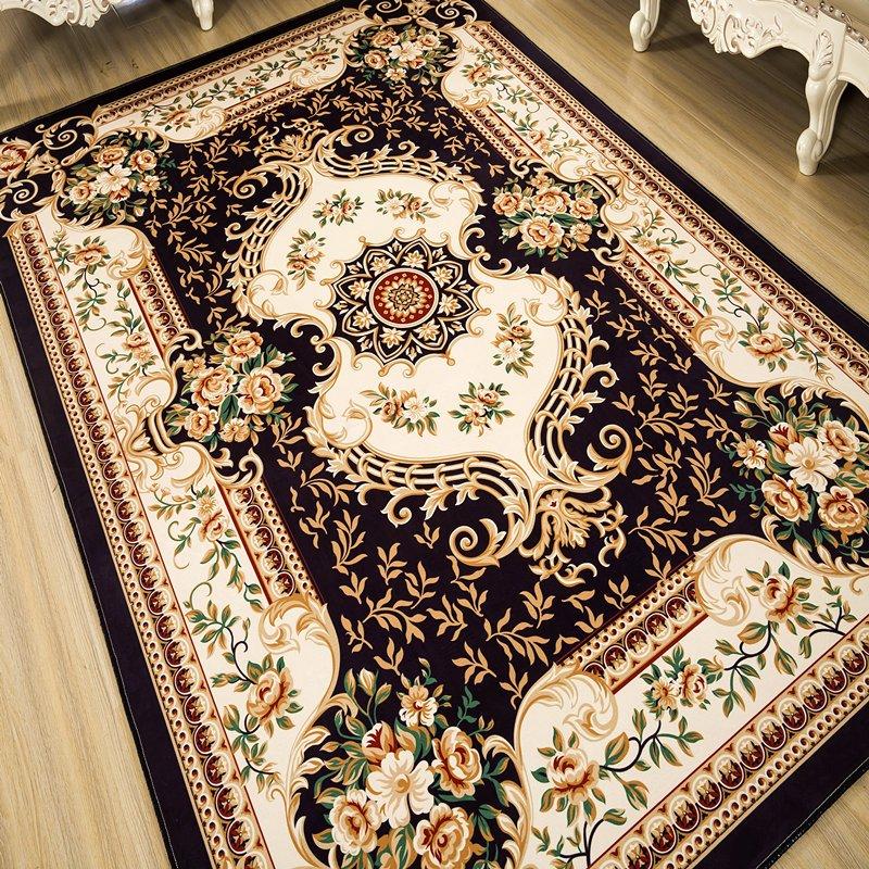 欧式地毯 客厅茶几沙发地毯 北欧土耳其地中海风情 卧室满铺床边地毯