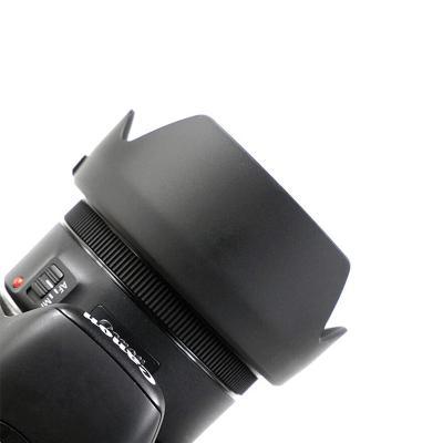 EW-63C莲花形遮光罩 佳能58mm 遮光镜 适佳能200D 750D 800D 18-55 IS STM镜头相机