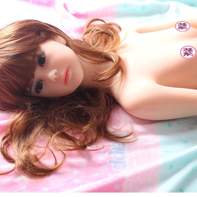 luoge全硅胶微乳萝莉实体娃娃110cm情趣用品真美女人偶金属骨骼真人