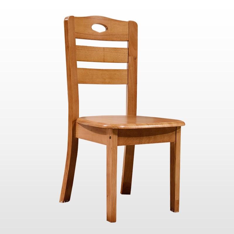 靠背椅餐厅客厅饭厅休闲椅 白色地中海木质凳子 简约现代中式图片