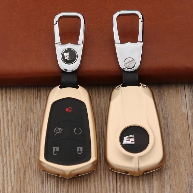 传枫 凯迪拉克钥匙包xtsxt5ctssrx铝合金钥匙链钥匙扣
