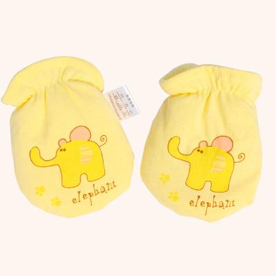 优贝多 纯棉新生婴儿手套防抓脸宝宝护手套