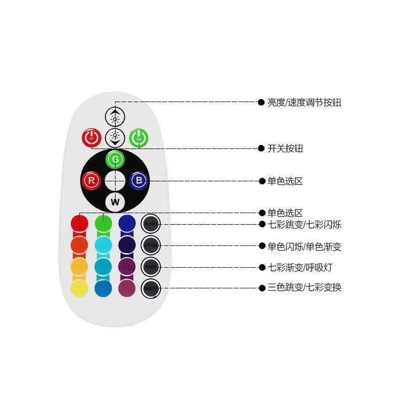 七彩灯带控制器-七彩控制器接线图-七彩灯带控制器用