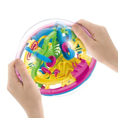 儿童早教益智立体魔幻智力球迷宫球益智游戏亲子迷你100关互动走珠3-6-12岁玩具