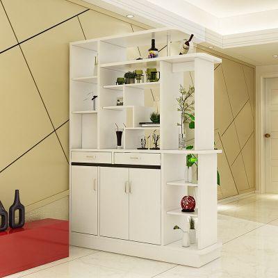 创意简易隔断双面酒柜鞋柜 超薄欧式烤漆鞋柜玄关柜鞋柜 简约现代门厅