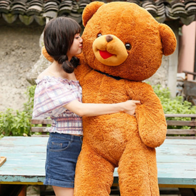 长腿熊 泰迪熊毛绒玩具熊公仔布娃娃 超大玩具熊 抱抱