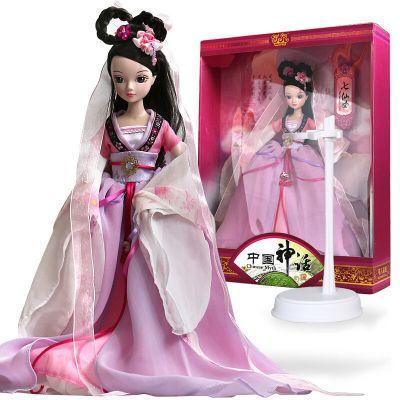 可儿娃娃 可儿娃娃 七仙女 古装衣服 儿童关节体 洋娃娃女孩玩具礼物