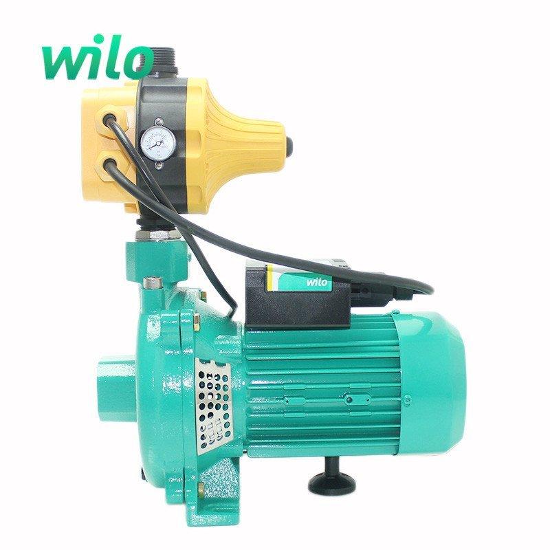pun-750eh全自动单相家用空气能过滤净水器热水器自来水增压泵配黄色