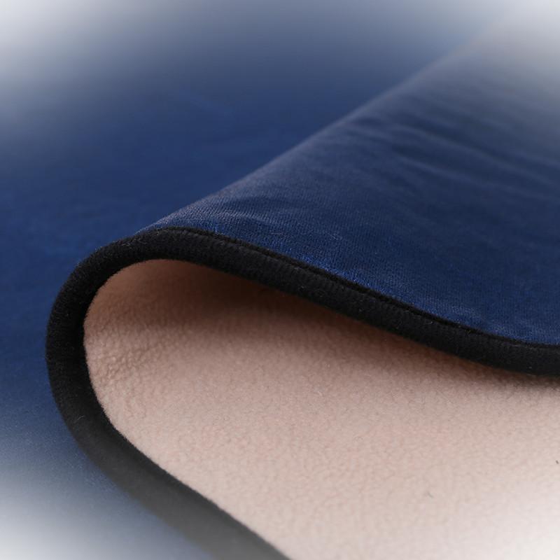 防滑四季通用皮沙发坐垫子套罩沙发巾飘窗垫可定做包邮欧式地中海蓝色