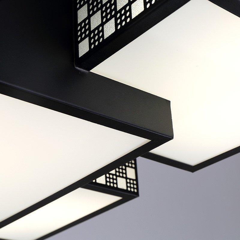 创意现代led客厅灯长方形餐厅灯简约大气饭厅灯具别墅