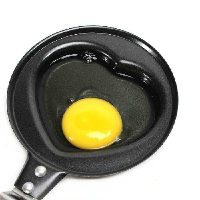 可爱创意迷你早餐煎锅 不粘小煎锅 煎蛋器 平底锅(4个