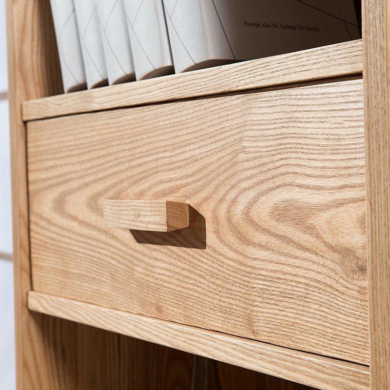 和諧佳緣北歐實木家具白蠟木環保無油漆1502電視柜創意日系客廳家具