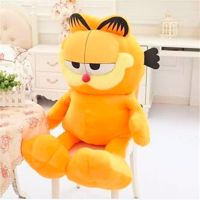 可爱呆萌加菲猫毛绒玩具公仔抱枕布娃娃六一儿童节