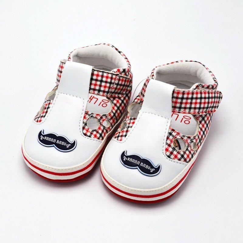婴奈儿婴儿鞋宝宝鞋夏 学步鞋软底婴儿凉鞋女童男幼儿