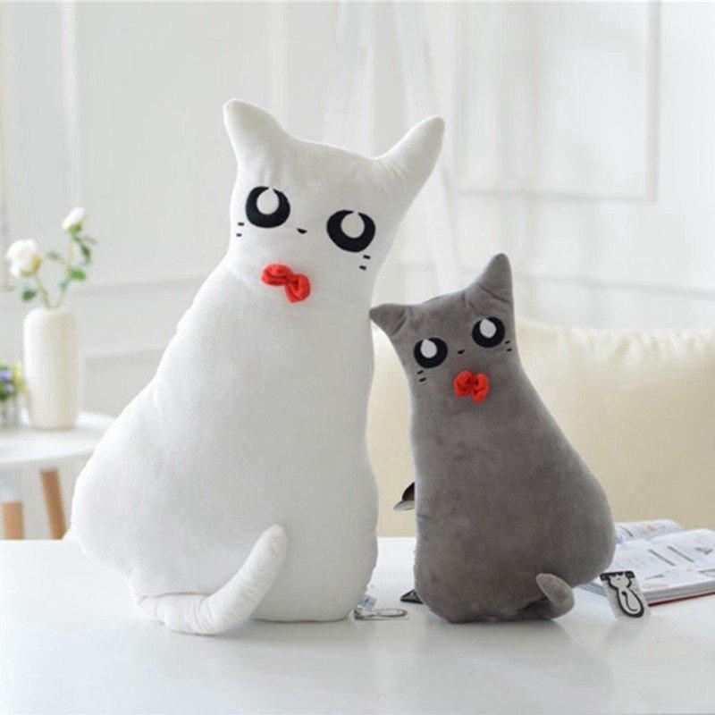 朵啦啦 背影猫抱枕 毛绒玩具大号布娃娃玩偶 生日礼物