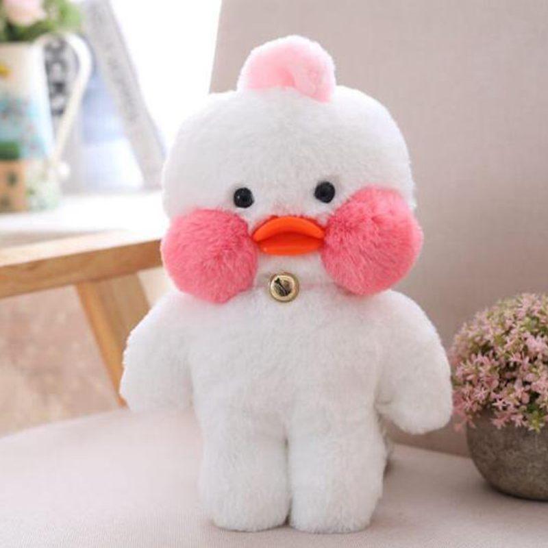 朵啦啦 网红玻尿酸小黄鸭ins鸭子毛绒玩具大号布娃娃玩偶公仔 生日