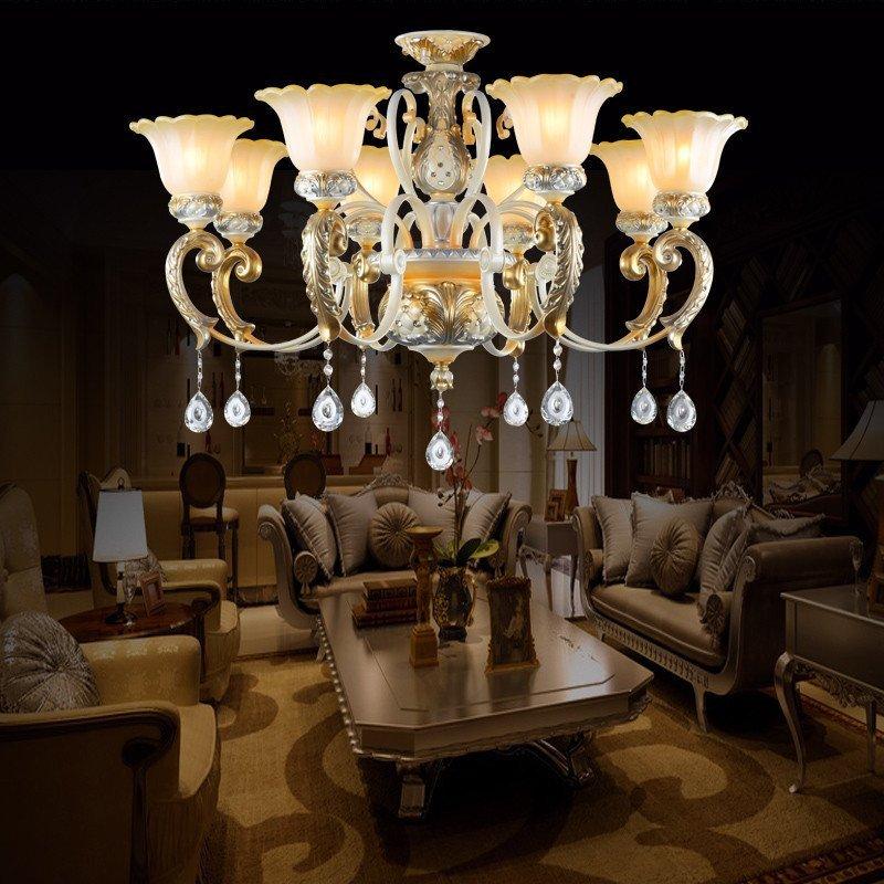 欧式客厅灯吊灯