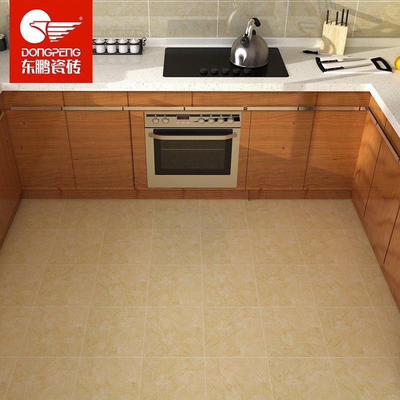 蒂诺石 厨卫地砖 厨房卫生间阳台 防滑地板砖 配套墙砖瓷片效果更佳