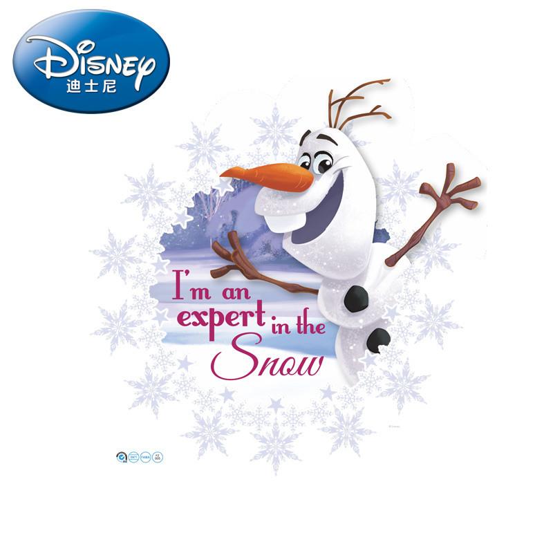 迪士尼官方正品冰雪奇缘雪宝卧室儿童房墙贴装饰贴
