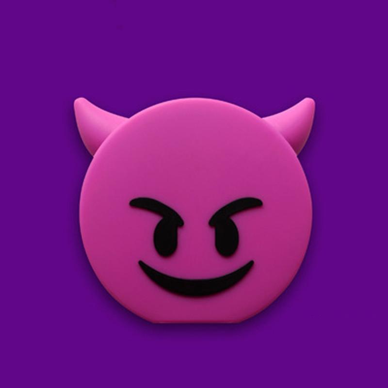 猪娃礼物 创意逗趣表情包emjoy fun移动电源2600mah应急充电宝图片