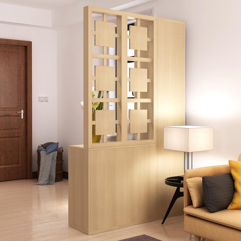 北欧简约现代客厅玄关柜隔断门厅柜酒柜屏风镂空间厅柜鞋柜穿衣镜