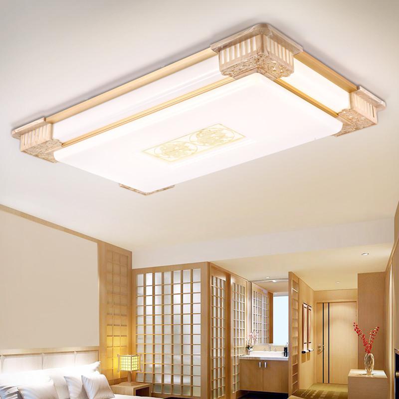 韩球简约现代中式吸顶灯 led客厅新中式顶灯超亮超大简欧式大号大厅灯图片