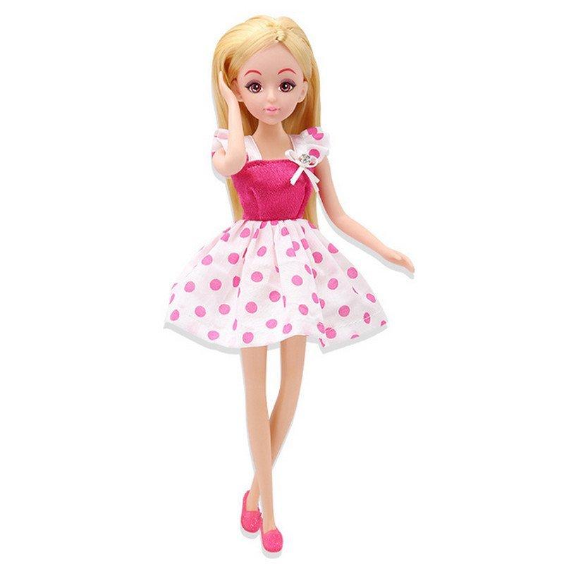 乐吉儿仿真芭比娃娃公主套装衣服礼盒儿童礼物过家家玩具a040f