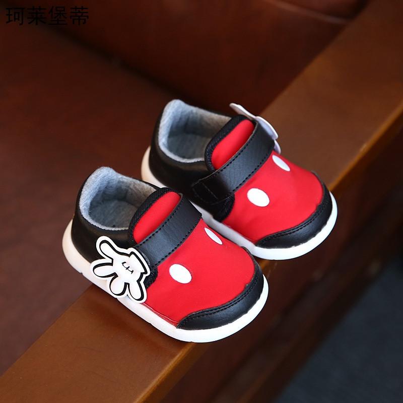 珂莱堡蒂2016秋季新款儿童单鞋可爱卡通宝宝鞋子bqy-725