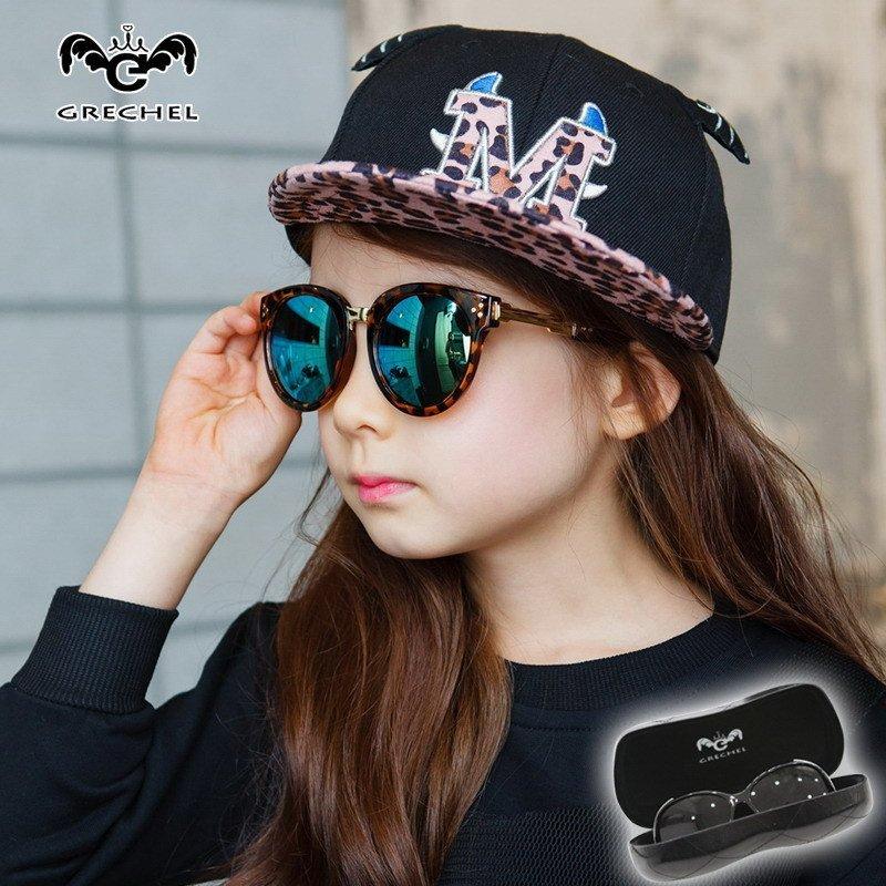 medo&jojo 儿童墨镜男童防紫外线韩国潮亲子女童可爱小孩眼睛宝宝眼镜