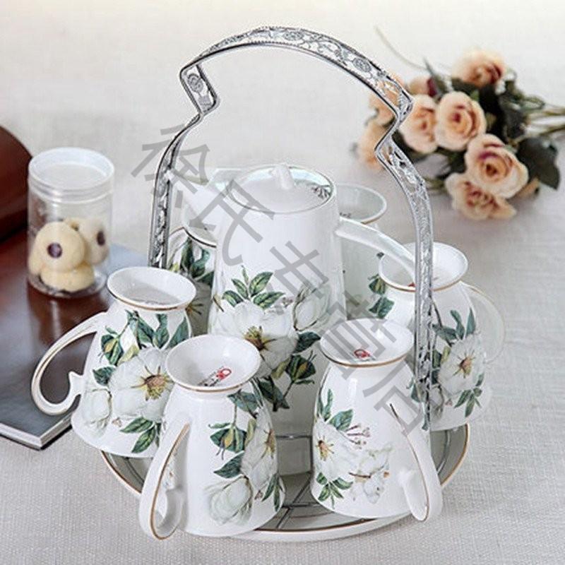 陶瓷水杯套装 家用 杯具套装冷水壶杯子凉水水具套装陶瓷水壶图片