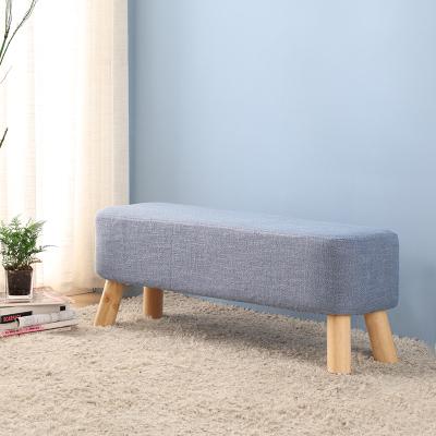 布藝換鞋凳沙發凳矮凳小板凳穿鞋凳長凳腳凳服裝店時尚創意